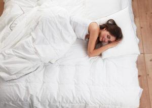 Schlafplatz mit Rute testen